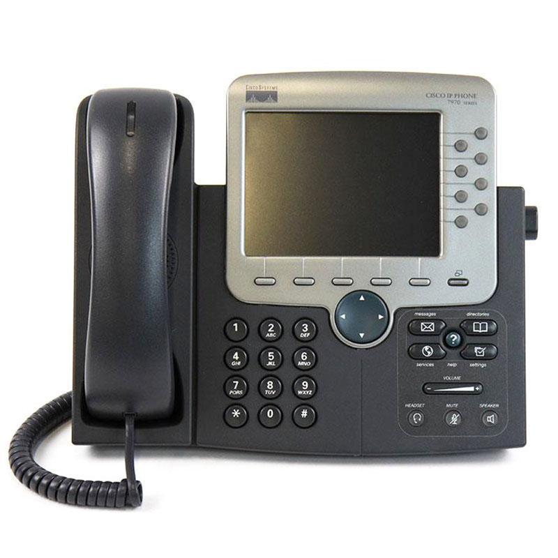Cisco Unified IP Phone 7970G (CP-7970G) | Supply & repair - Ghekko