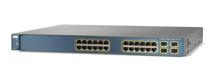 Cisco Catalyst 3560 Series PoE 24 Port Switch (WS-C3560G